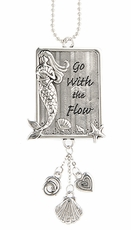 Ganz Car Charms - Mermaid Go With the Flow