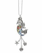 Ganz Car Charms - Mermaid with Color