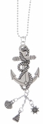 Ganz Car Charms - Nautical Anchor