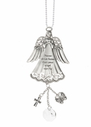 Ganz Car Charms - Never Drive Faster Than Your Angel Can Fly