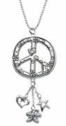 Ganz Car Charms - Peace Sign