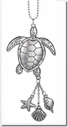 Ganz Car Charms - Sea Turtle