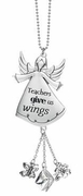 Ganz Car Charms - Teachers Give Us Wings
