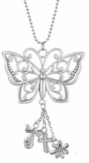 Ganz Car Charms - The Miracle of Friendship Butterfly