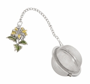 Ganz Charming Tea Infusers - Sunflower with Color