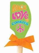 Brownlow Silicone Kitchen Spatulas - Peace Love and Cookies