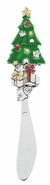Ganz Christmas Tree Holiday Cheese Spreaders
