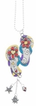 Ganz Color Car Charms - Flip Flops