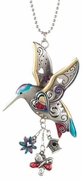 Ganz Car Charms - Hummingbird Color Art