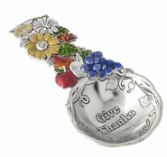 Ganz Everything Spoons - Fall Flowers and Fruit