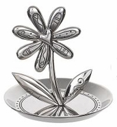 Ganz Flower Ring Holder