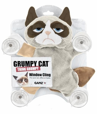 Ganz Grumpy Cat Window Cling