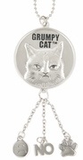 Ganz Grumpy Cat Car Charms - Nope