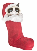 Ganz Grumpy Cat Christmas Holiday Stocking