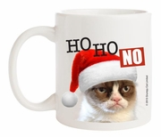 Ganz Grumpy Cat Holiday Coffee Mug - HO HO NO