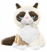 "Grumpy Cat Plush by Ganz - 5"" Sitting Style"