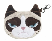 Ganz Grumpy Cat Plush Coin Purse