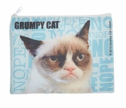 Ganz Grumpy Cat Zippered Top Pouch