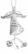 Ganz Guiding Angels Car Charms - Faith Brings Miracles
