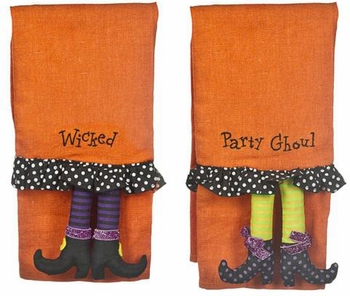 Ganz Halloween Guest Towels Set