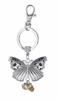 Ganz Key Ring - Butterfly