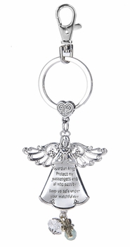 Ganz Key Ring - Guardian Angel
