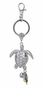Ganz Key Ring - Sea Turtle