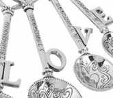 Ganz Keys to Love Measuring Spoons