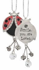 Ganz Lucky Ladybugs Car Charms - Smile You are Loved