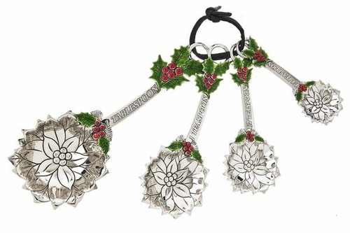 Ganz Measuring Spoons - Holly and Berry