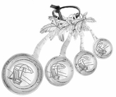 Ganz Studio 101 Measuring Spoons - Palm Trees