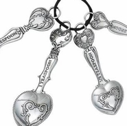 Ganz Measuring Spoons - Hearts