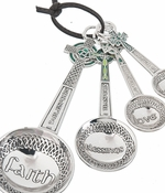 Ganz Measuring Spoons - Irish Celtic Cross