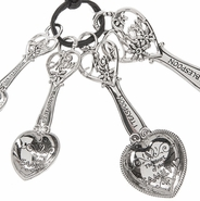 Ganz Measuring Spoons - Mom with Hearts