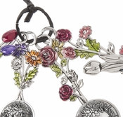 Ganz Measuring Spoons - Flower Bouquet