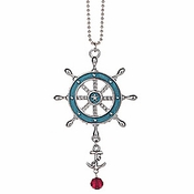 Ganz Nautical Car Charms - Ship Wheel