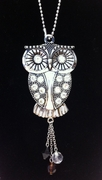 Ganz Owl Car Charm with Rhinestones - Style B