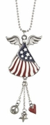 Ganz Patriotic Angel Car Charms - God Bless America