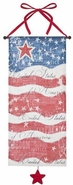 Ganz Patriotic USA Flag Wall Banner