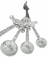 Ganz Recipe for Faith Cross Measuring Spoons