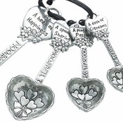 Ganz Measuring Spoons - Recipe for Love