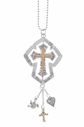 Ganz Spinning Car Charms - Cross