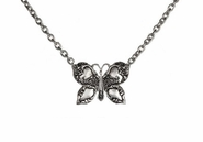 Ganz Spoon Handle Necklace - Butterfly