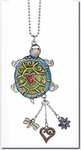 Ganz Turtle Color Art Car Charm