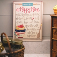 Glory Haus Recipe for a Happy Home Canvas