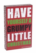 Grumpy Cat Box Sign - Have Yourself a Grumpy Little Christmas