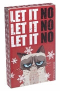 Grumpy Cat Holiday Box Sign - Let It No, Let It No