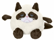 Grumpy Cat Plush Ball by Ganz - 7""