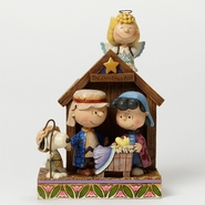 "Jim Shore Peanuts - Christmas Pageant ""The Christmas Play"""