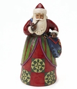 Jim Shore Santa with Bag Classic